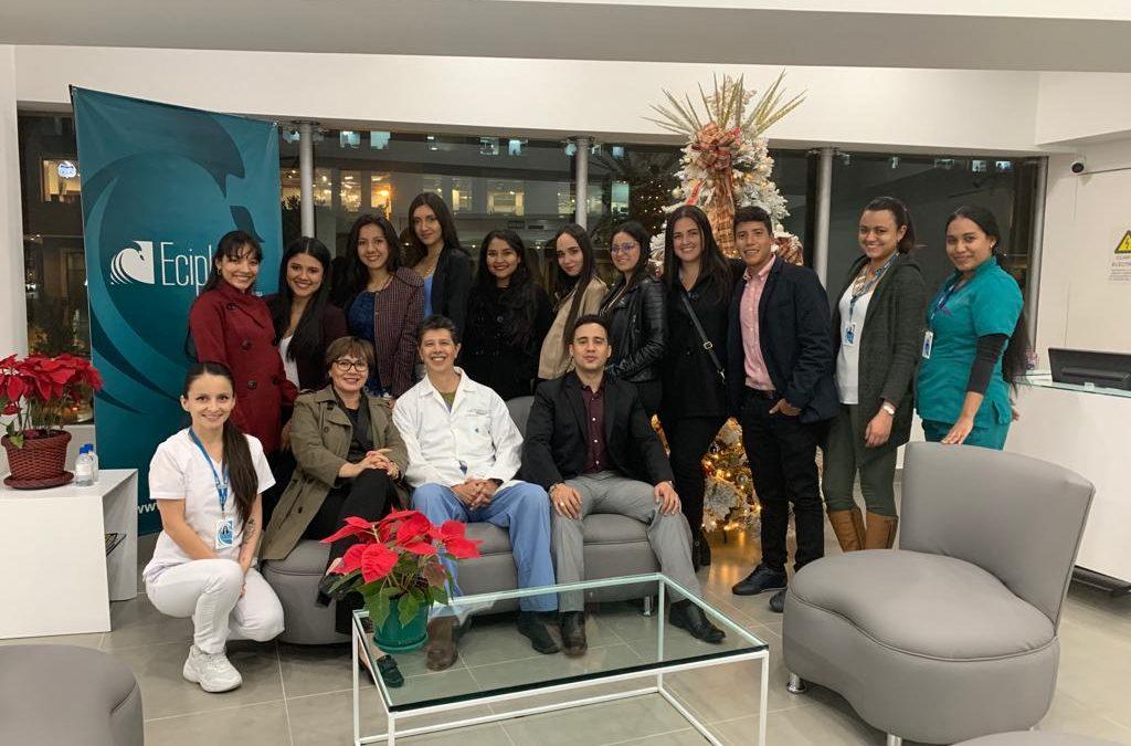 Estudiantes de ingeniería financiera de la UNAB ampliaron conocimientos del sector salud en un encuentro empresarial con Eciplast